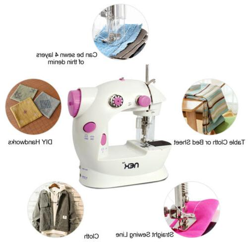 2-Speed Portable Mini Desktop Household sewing