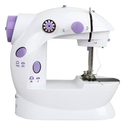 Portable Electric Sewing Double Stitches Household USA