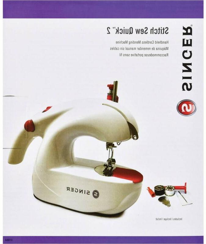 Singer Portable Hand Held Sewing Machine Quick Stitch Sew Ha