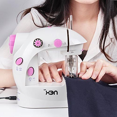 NEX Sewing Craft Gift Portable Mini Sew with Double Speed Pedal