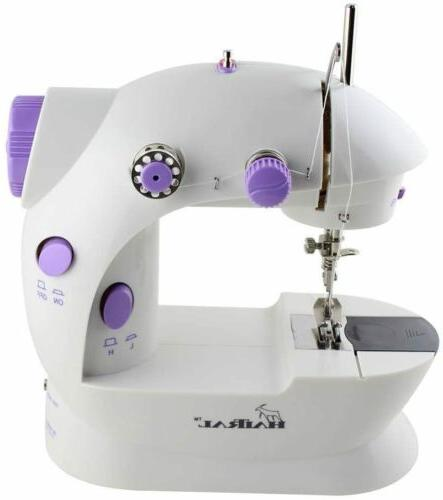 portable sewing machine adjustable 2 speed 2