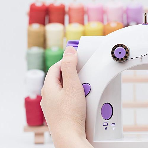 HAITRAL Portable Sewing Adjustable Thread Electric with Foot