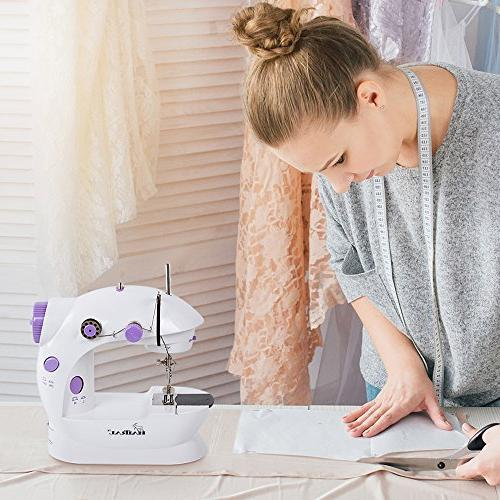 Adjustable 2-Speed Thread Electric Crafting Mending with Foot Pedal