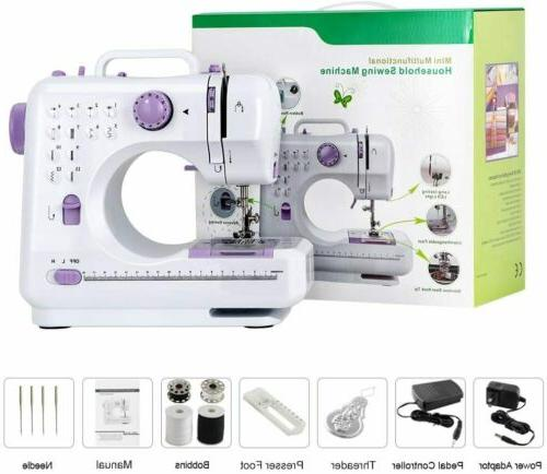 portable sewing machine mini electric household crafting