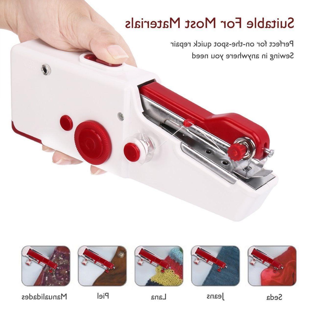 Portable Sew Hand Held Quick Handy Repair,