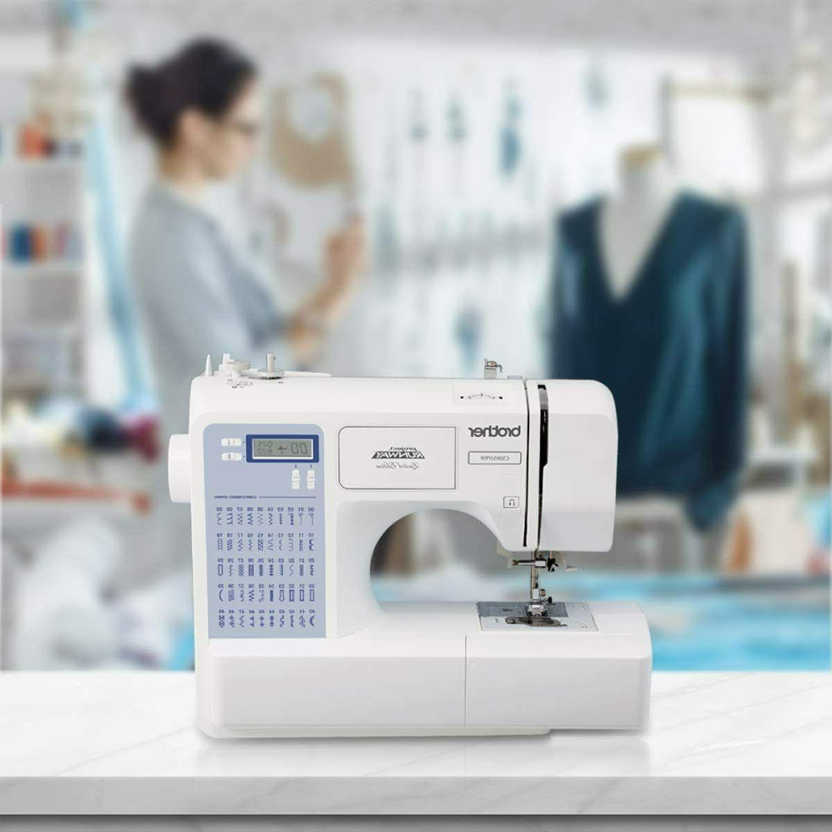 Brother CS5055PRW 50 Stitches Computerized Sewing Machine SH