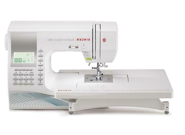 quantum stylist 9960 computerized sewing machine refurbished