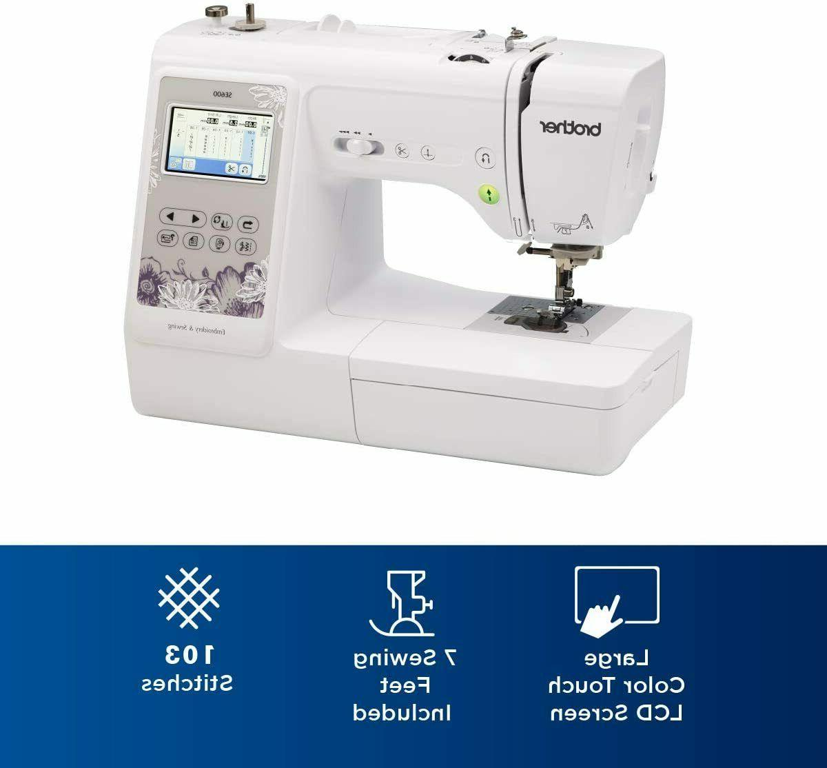 Brother SE600 Combo Sewing Embroidery ✅ FAST SHIPPING ✅