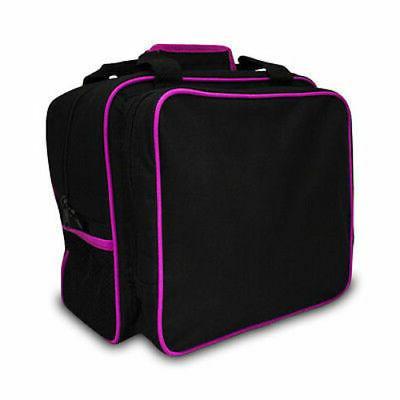 sew mini pink black tote