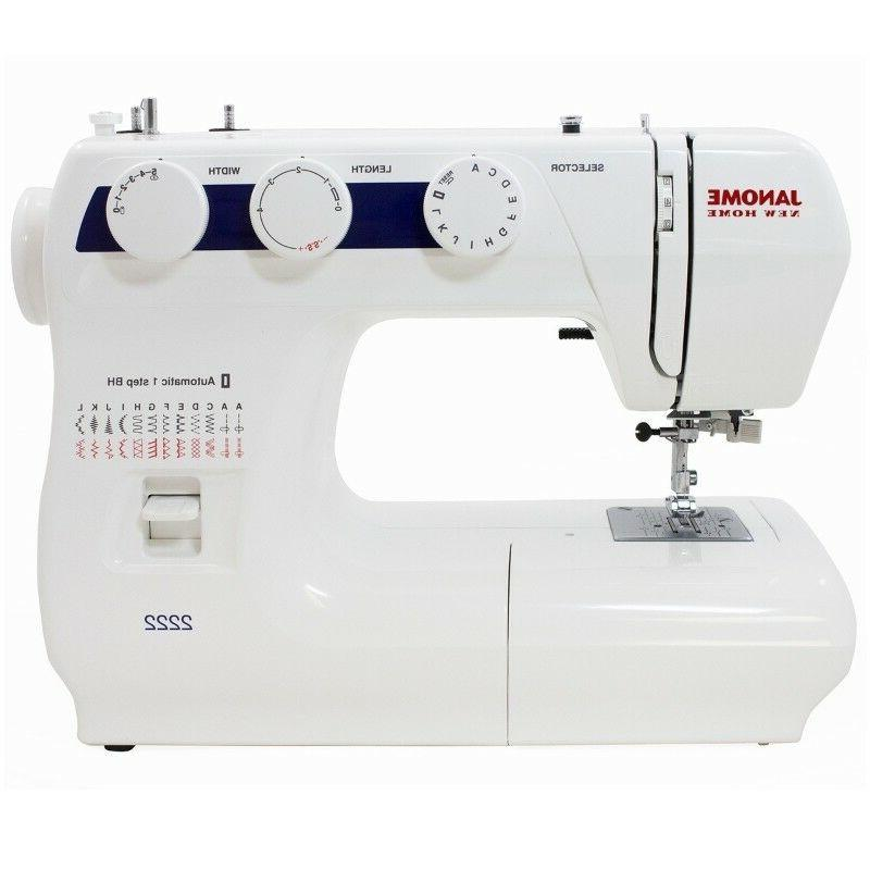 Janome Sewing Machine 2222 New