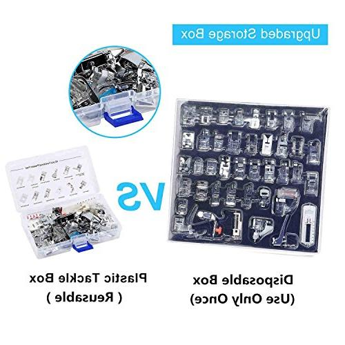 Feet Kit pcs for Brother, Babylock, New Kenmore, Shank