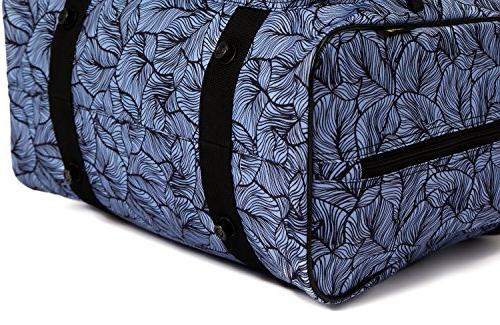 Kenley Machine Bag - Cover Carrying Pockets and Handles Universal Fit 18x10x13 for Janome - Midnight