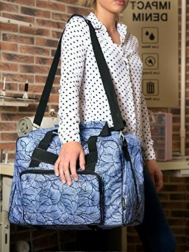 Kenley Sewing Bag Cover Pockets Universal 18x10x13 for Singer