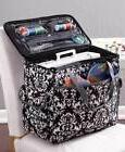 Sewing Machine Tote Rolling Travel Case Adjustable Handle on
