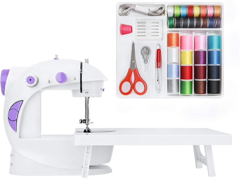 sewing machine with sewing kit new version