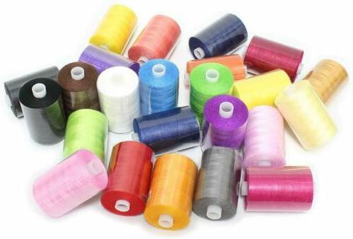 Sewing Thread 24 1000 Yards Sets Spools Sewing