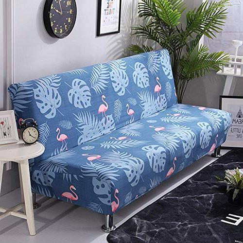 total-shop Sofa Cover, Thicker Folding Sofa Cover for Patio Bench Living Room