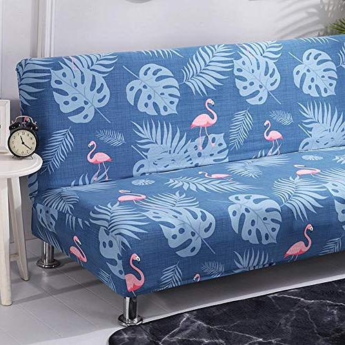 total-shop Elastic Thicker Folding Anti-Slip Sofa Patio Couch Bench Room Sleeper