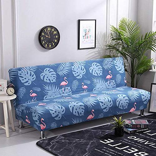 total-shop Cover, Elastic Thicker Folding Sofa Room Futon