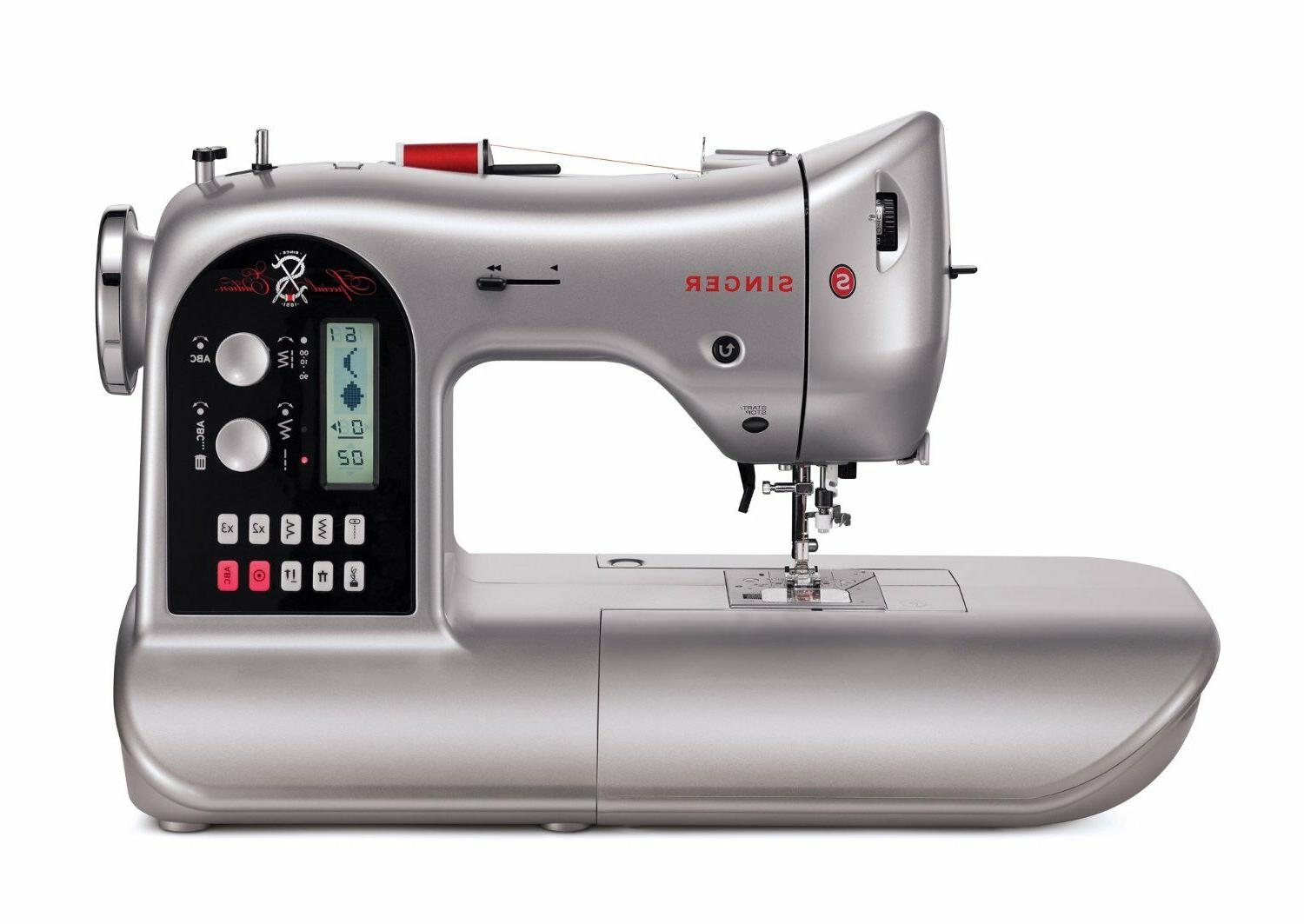 90S Computerized Sewing Machine Quilting