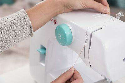 Singer Start Electric Sewing Machine - White/Teal