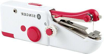 Singer Quick Small Portable Hand Held Sewing Machine Compact