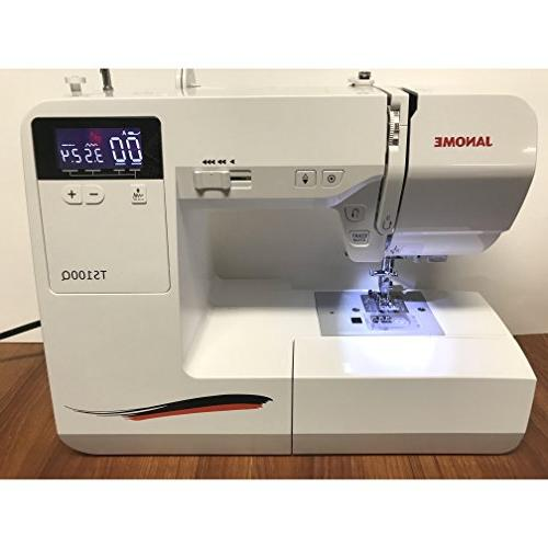 Janome TS100Q Sewing Machine with Stitches