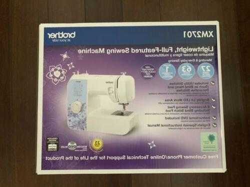 xm2701 sewing machine with 27 stitches free