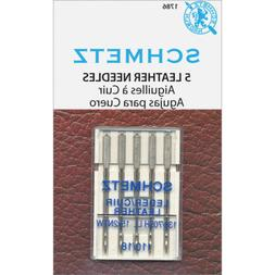 Euro-Notions Leather Machine Needles Size 5 per pack 115628