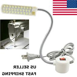 30 LED Sewing Machine Light US PLUG Gooseneck Working Lamp W