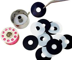 Little Genie Magic Bobbin Washers, Sewing Machine Bobbin Cas