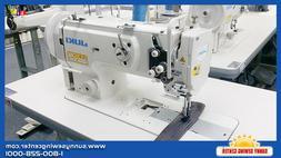 JUKI LU-1508N Single Needle Walking Foot Sewing Machine for