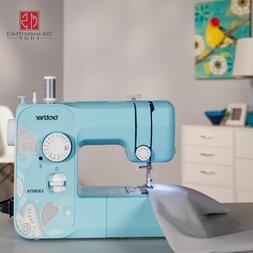 Brother LX3817A 17-Stitch Full-size Sewing Machine Aqua Free