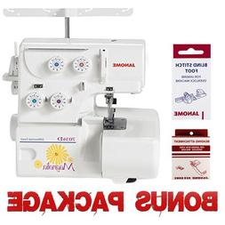 Janome Magnolia 7034D Serger Sewing Machine w/2-Piece