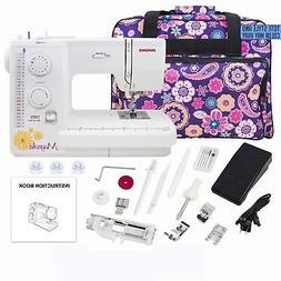 Janome Magnolia 7325 Sewing Machine with Exclusive Bonus Bun