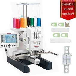 Janome MB-4S Bonus Embroidery Sewing Machine Kit With Extra