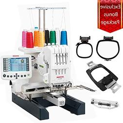 Janome MB-4S Four-Needle Embroidery Machine with included Ha
