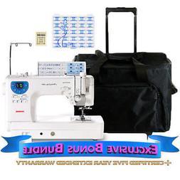 Janome Memory Craft 6300P Sewing Machine w/ Exclusive Bonus-