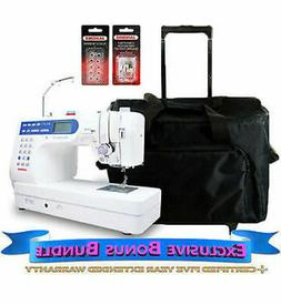 Janome Memory Craft 6500P Refurbished Sewing Machine with Ex