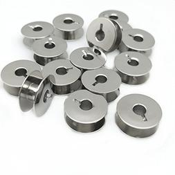"YEQIN 20 pk""L"" Metal Bobbins for Sewing Machine Alphasew Ber"