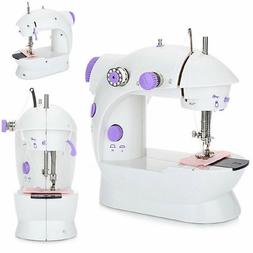 Mini Electric Portable Sewing Machine Household Double Home