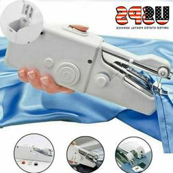 Mini Electric Sewing Machine HandHeld Stitch Cordless Fabric