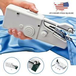 Mini Portable Electric Tailor Stitch Hand-held Sewing Machin