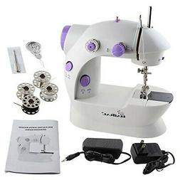 Mini Portable Sewing Machine with Light and Foot Pedal Adjus