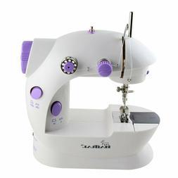 HAITRAL Mini Sewing Machine Portable Adjustable 2-Speed Doub
