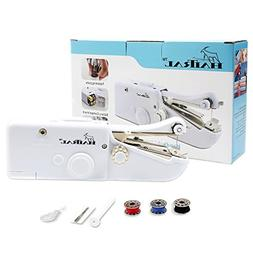 Mini Sewing Machine Quick Stitch Tool Handheld Electric Port
