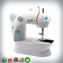 Mini Sewing Machine Sew 2-Speed Portable Desktop Handheld Ho