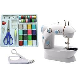Michley Mini Sewing Machine & Accessories 3-Piece Value Bund