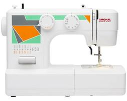 Janome MOD-15 Easy-to-Use Sewing Machine with 15 Stitches, A
