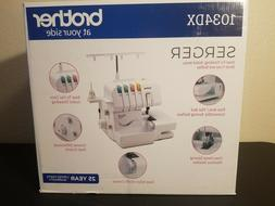 new 1034dx overlock serger sewing machine sealed